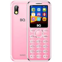 270x270-Мобильный телефон BQ Nano Розовый (BQ-1411)