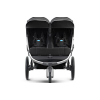 Коляска детская Thule Urban Glide 2 Double (Jet Black)