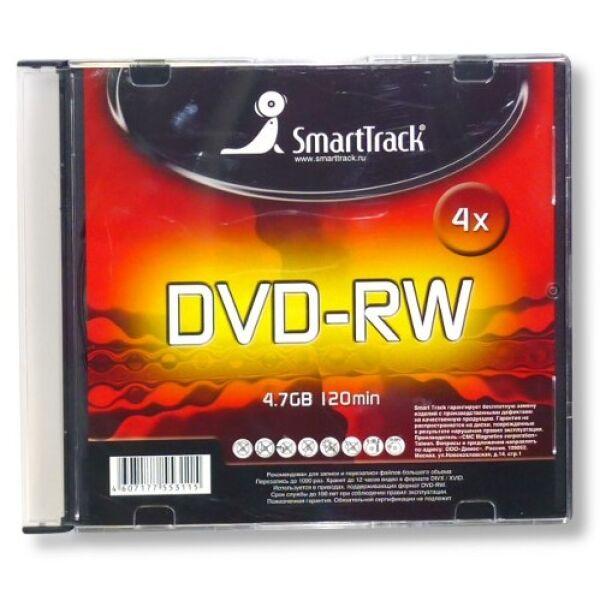 Диск SMARTTRACK DVD+RW 4.7GB 4x SL-5