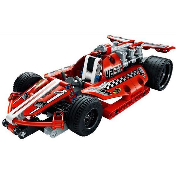Конструктор Decool Красный гонщик 3412