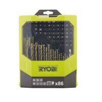 270x270-Набор сверл и бит RYOBI RAK86MiXC (86 предметов)