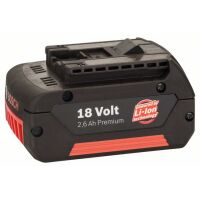 Аккумулятор Bosch GBA 18V 2.6 Ah GBA M-C (2607336092)