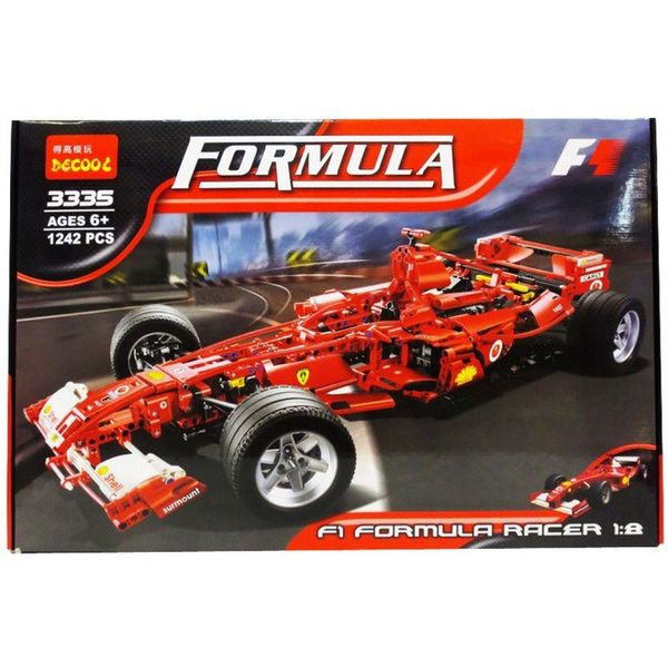 Конструктор Decool Формула F1 3335