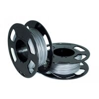 270x270-Пластик для 3D печати U3Print PETG Aluminium 1.75 мм 1000 г (алюминий)