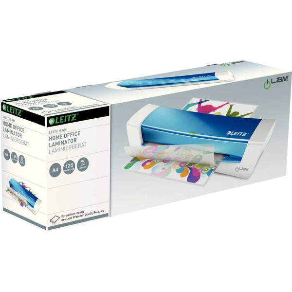 Ламинатор Leitz iLAM Home Office A4 (синий) 73680036