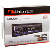 USB-магнитола Nakamichi NQ610BR