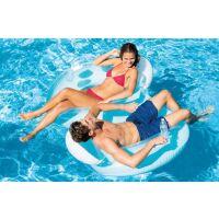 Надувной круг-кресло для плавания INTEX 56800