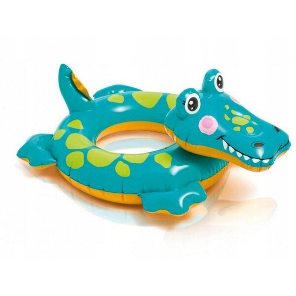"""Надувной круг INTEX """"Большие животные"""" (крокодил) 58221"""