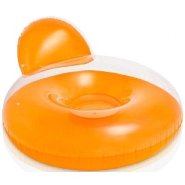 Надувной круг-кресло Intex 58889 (оранжевый)