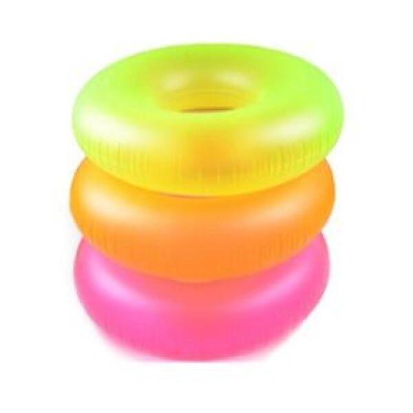 Надувной круг Intex Neon Frost 59262NP (оранжевый)