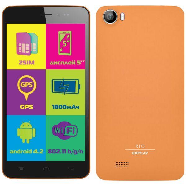 Смартфон EXPLAY Rio оранжевый
