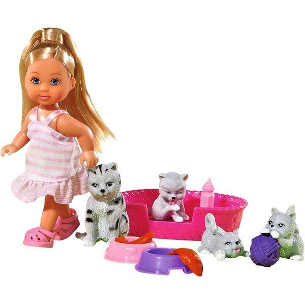 Кукла Simba Эви - друг животных, 10 5734191