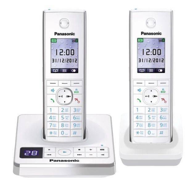 Телефон стандарта dect PANASONIC KX-TG8562RUW
