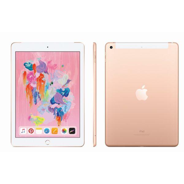 Планшет APPLE iPad Wi-Fi + Cellular 128GB Gold A1954 (MRM22RK/A)