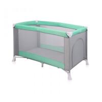 270x270-Манеж-кровать LORELLI Verona 1 Green&Grey