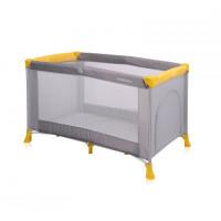 270x270-Манеж-кровать LORELLI Verona 1 Grey&Yellow