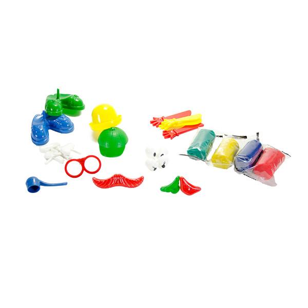 Набор для детской лепки GENIO KIDS-ART Забавные друзья (TA1026)