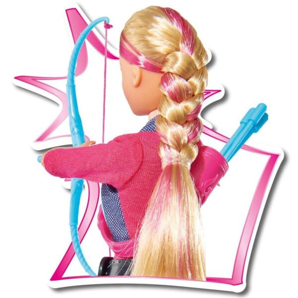 Кукла Simba Штеффи с луком и стрелами, 10 5737169, 29 см.