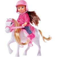 Куколка Simba Эви и маленькая пони, 10 5737464, 12см