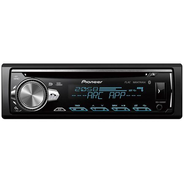 Автомобильный ресивер+микрофон PIONEER DEH-S5000BT-K