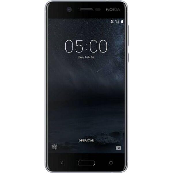 Смартфон NOKIA 5 DS TA-1053 серебристый