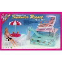 270x270-Набор мебели для кукол WELL SUCCESS TOYS Отдых у бассейна (2578)