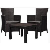 270x270-Набор мебели Keter Rosario Balcony (коричневый)