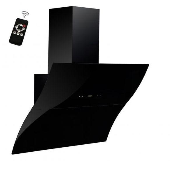 Вытяжка BACKER AH90E-WAV180 RC Black Glass