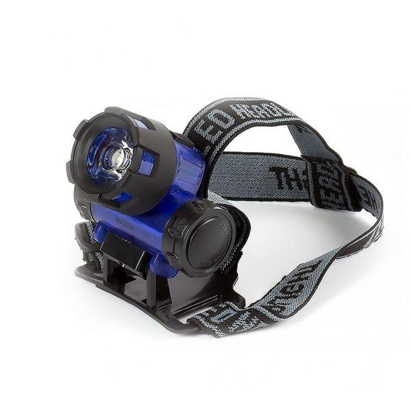 Светодиодный налобный фонарь 1 Вт Smartbuy, синий (SBF-HL018-B)/200
