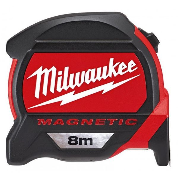 Рулетка  с магнитом MILWAUKEE Premium 8 м (48227308)