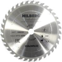 270x270-Пильный диск Hilberg HW351 350*32*36Т