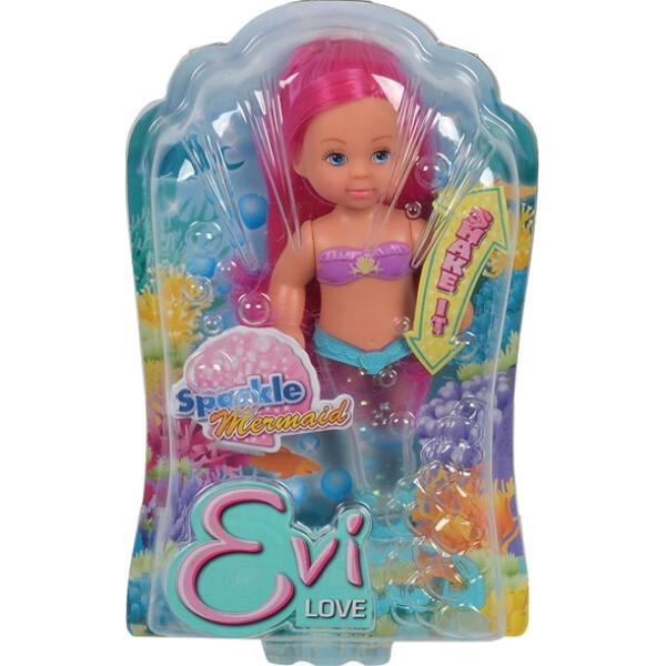 Кукла Simba Эви Сияющая русалочка, 10 5738057, 14 см.