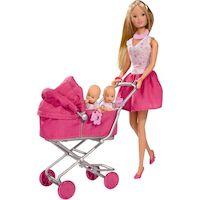 Кукла Simba Штеффи с большой коляской, 10 5738060
