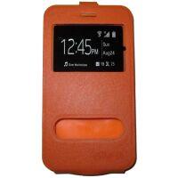 """270x270-Флип-кейс Bingo U2WV-Series для телефона с экраном 4,8 - 5,2"""" Оранжевый (003095)"""