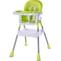 270x270-Стульчик для кормления CARETERO Pop (зеленый)