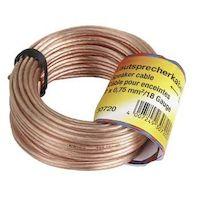 270x270-Акустический кабель Hama 2х0.75 мм  (30723)