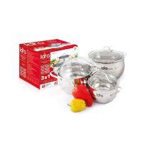 Набор посуды LARA Apple LR02-86