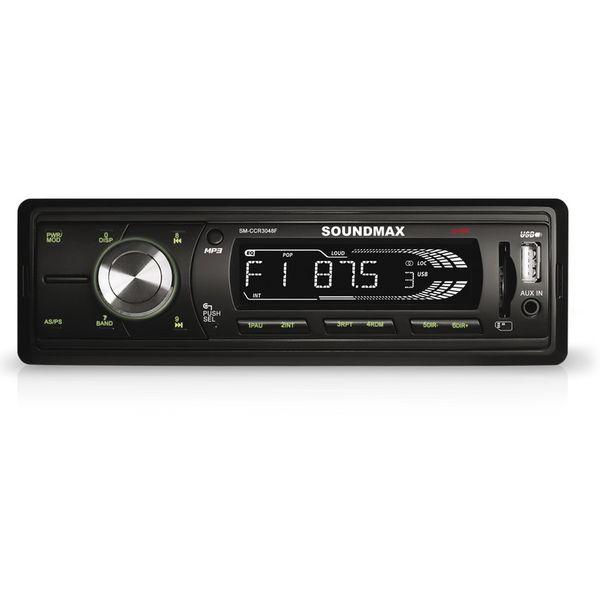 Автомагнитола Soundmax SM-CCR3048F (черный)