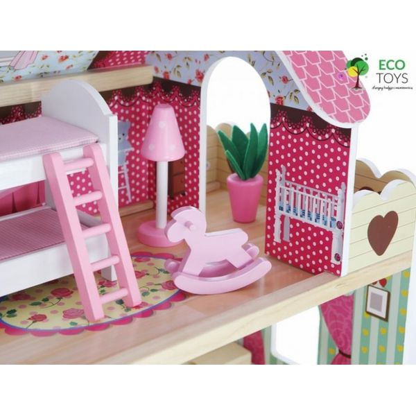 Кукольный домик ECO TOYS 4109