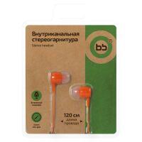 Наушники Nobby BB-EP-01 (оранжевый)
