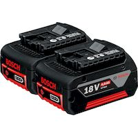 270x270-Комплект аккумуляторов Bosch GBA 18 В 4,0 А*ч M-C Professional (1600Z00042)