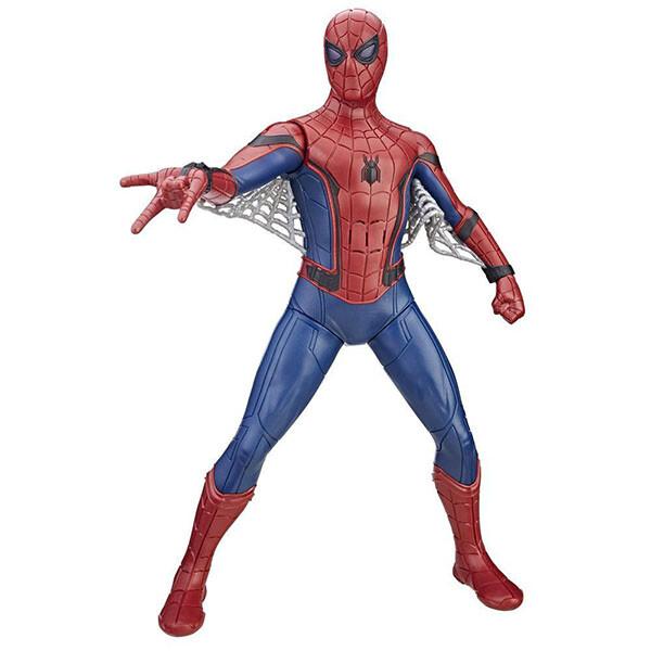 Игрушка Hasbro Spiderman Фигурка человека-паука со световыми и звуковыми эффектами B9691