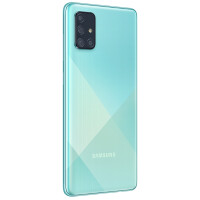 Смартфон Samsung Galaxy A71 (голубой)