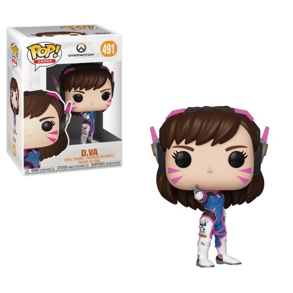 Фигурка Funko POP! Vinyl: Games: Overwatch S5: D.Va (37433)