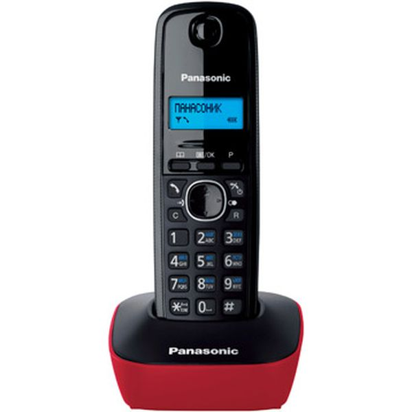 Телефон стандарта dect PANASONIC KX-TG1611RUR