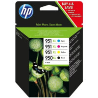 Набор катриджей HP 950XL/951XL (C2P43AE) для HP HP Officejet Pro 8610e, 8620e, 276dw, 251dw, 8600e, 8100e