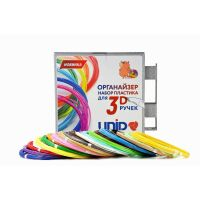 270x270-UNID Набор-органайзер с пластиком для 3D ручек: ABS20 (по 10м. 20 цветов в коробке)