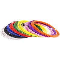 270x270-UNID Набор пластика для 3D ручек: ABS9 (по 10м. 9 цветов)