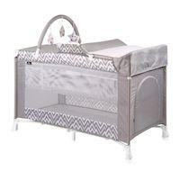 270x270-Манеж-кровать LORELLI Verona 2 Plus (серый)