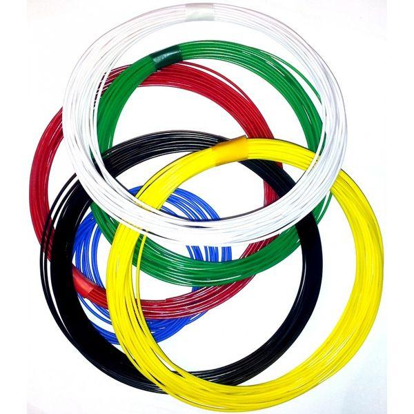 Набор пластика для 3D ручек UNID ABS6 (по 10м. 6 цветов в коробке)